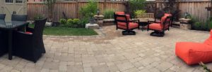 patio interlocking paver