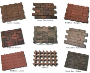patio interlocking pavers